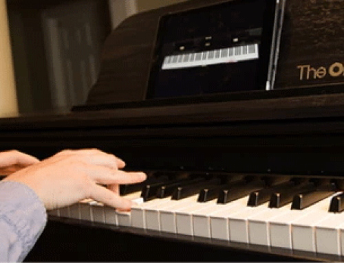This smart keyboard will teach you how to play it.
